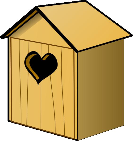 564x597 Birdhouse Clip Art