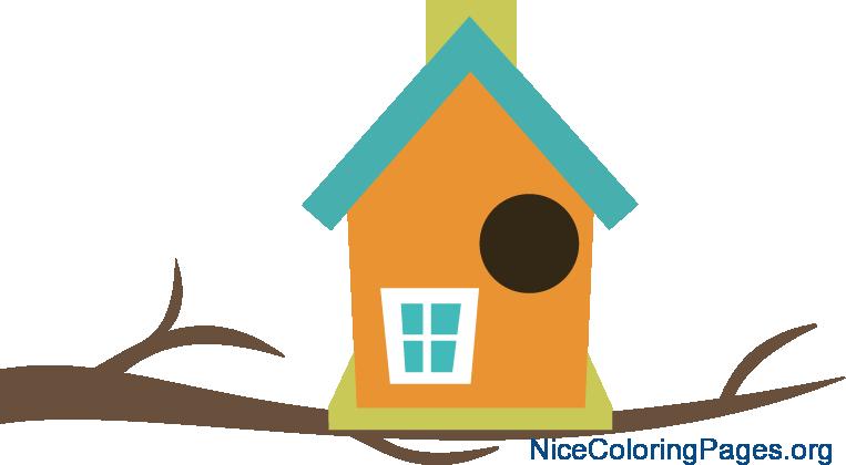 763x420 Birdhouse Clipart