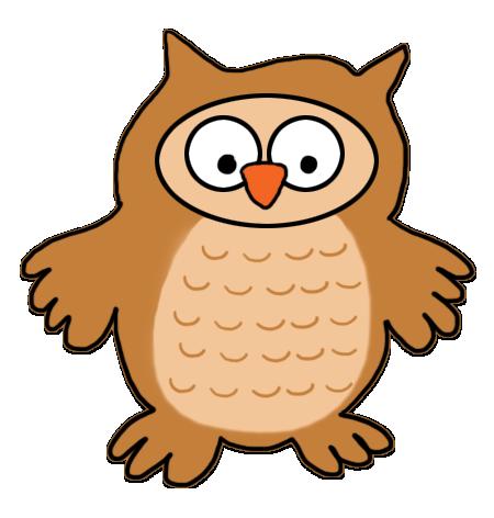 450x472 Owl Clip Art