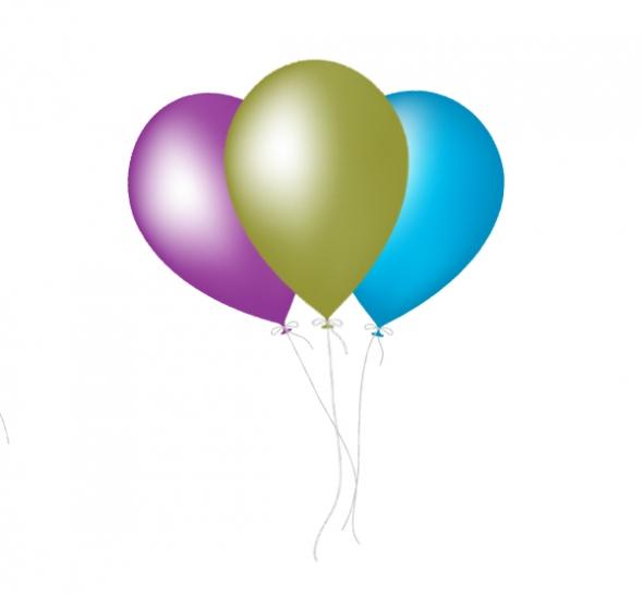 590x545 Birthday Balloons Free Birthday Balloon Clip Art Clipart 6