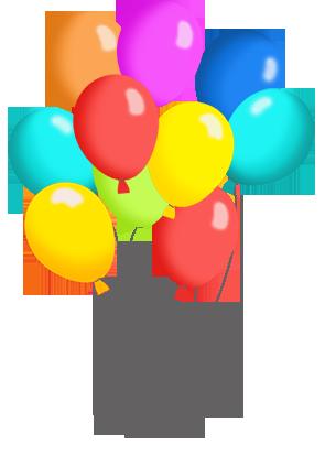 295x413 Birthday Balloons Free Birthday Balloon Clip Art Clipart Images 6
