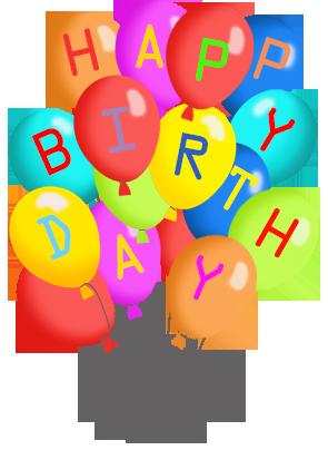 295x413 Birthday Balloons Free Happy Birthday Balloon Clipart Clipartfest