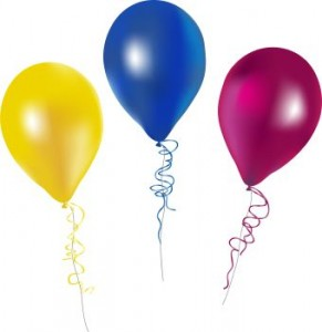 291x300 Free Birthday Balloon Clip Art Clipart Images 6
