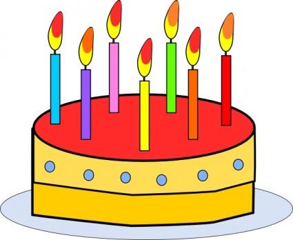 425x348 Free Birthday Cake Clip Art Clipart Panda