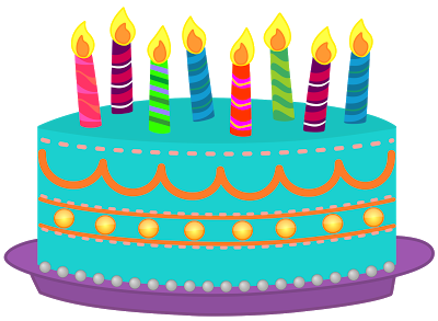 400x293 Image Of Birthday Cake Clipart