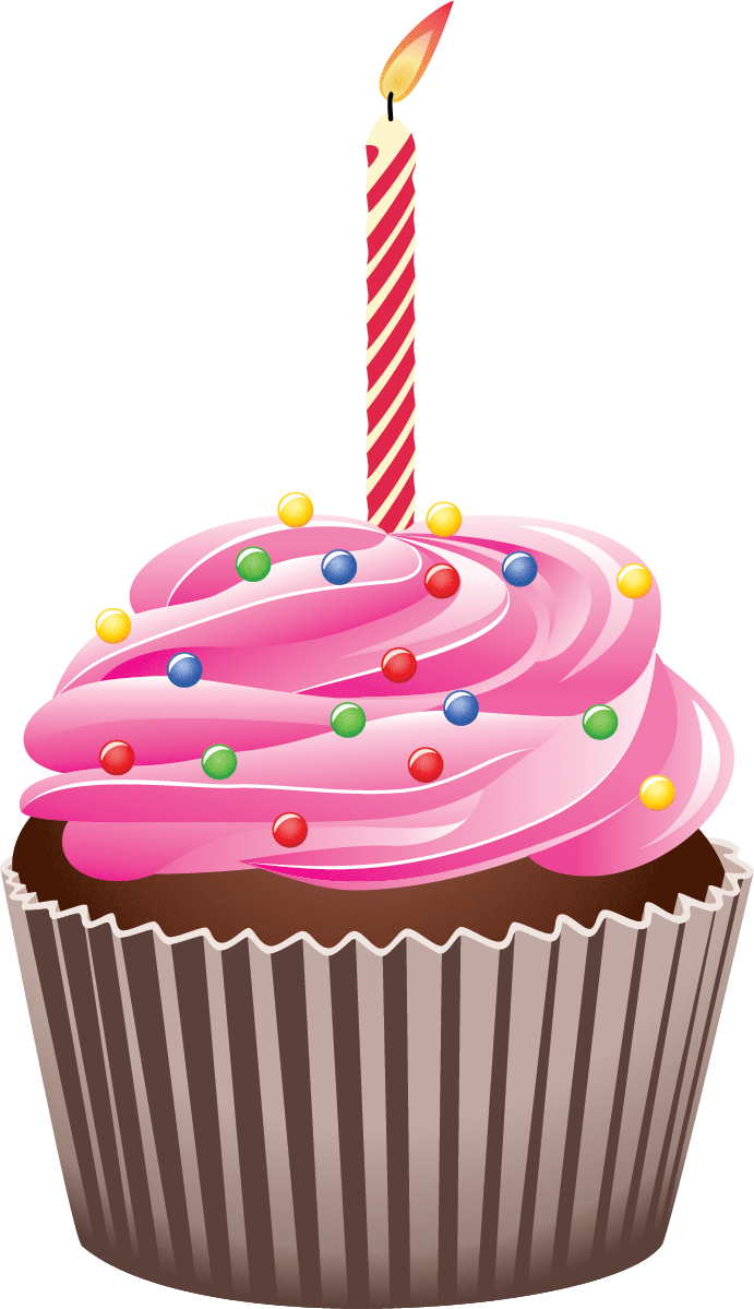 691x1199 1st Birthday Cake Clip Art
