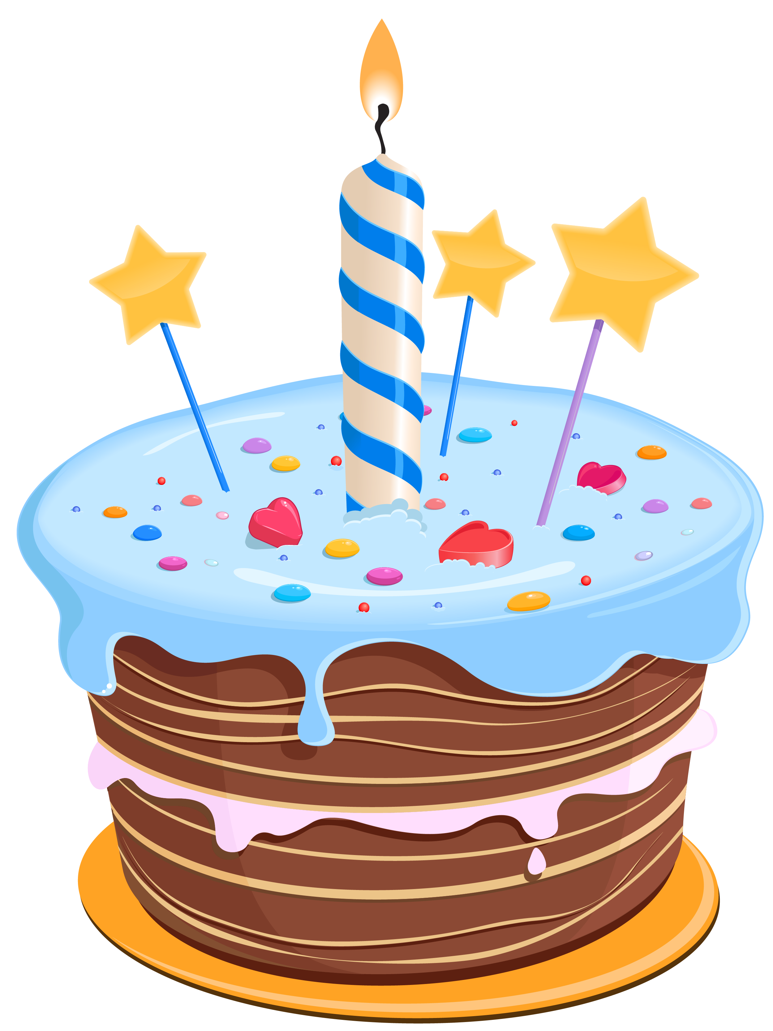 2499x3334 Set These Cute Birthday Cake Clipart As Desktop Profile In Your Pc
