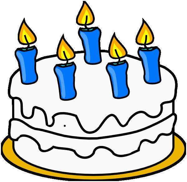 600x586 Birthday Candles Clipart Lovely Vector Clipart Birthday Candles
