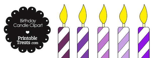 610x229 Candle Clipart Violet 3127123