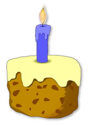 289x409 Free Birthday Candle Clipart