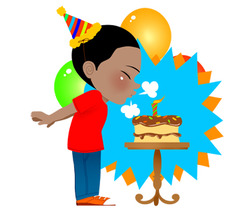 340x309 Image Of Birthday Candle Clipart