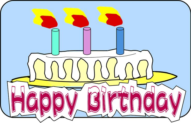 736x476 Birthday Candle Clip Art Cartoon Birthday Cake Clipart Fun