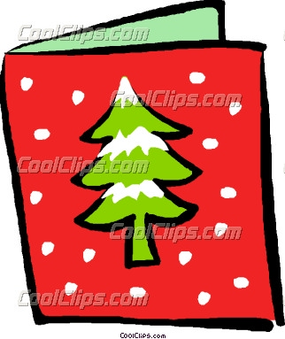 322x383 Christmas Greeting Card Clipart