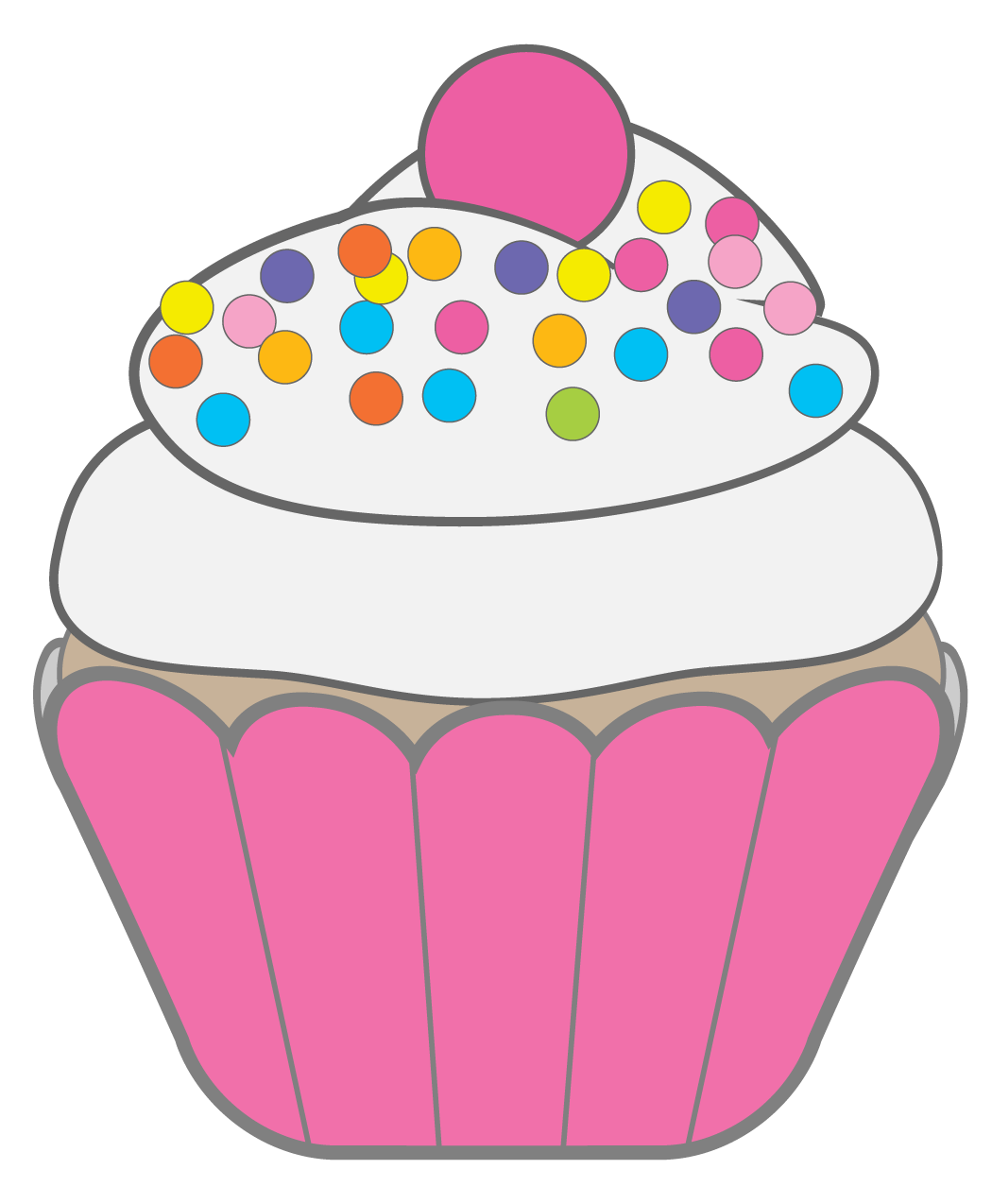1050x1274 Cupcakes Muffins Cupcake Pictures, Clip Art And Birthday Clipart