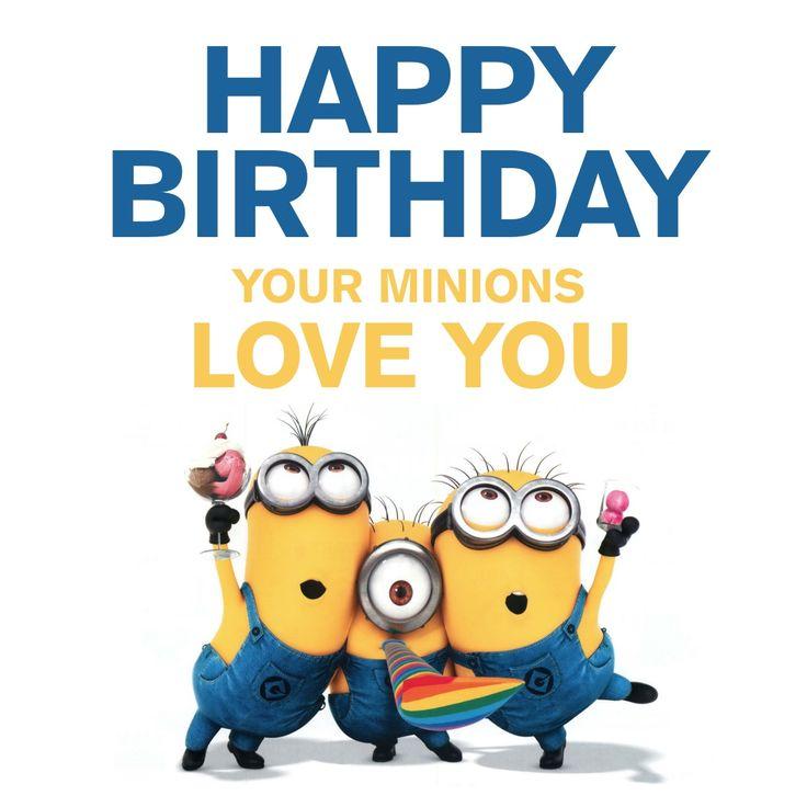 736x736 Minions Happy Birthday Clip Art