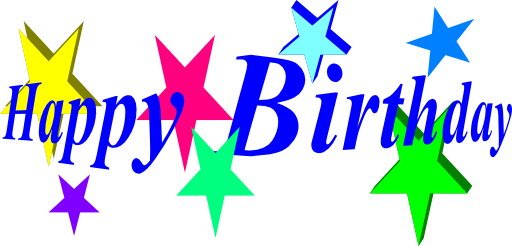512x246 Free Birthday Clipart Free Birthday Happy Birthday Clip Art