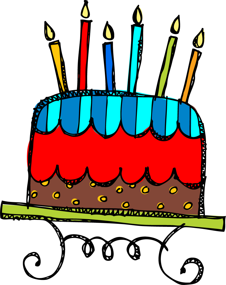 890x1122 Birthday Cakes Images Cool Free Cake Clip Art