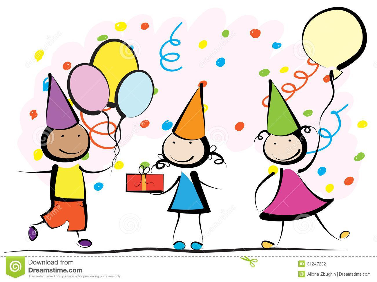 1300x972 Beautiful Kids Birthday Party Clip Art Wall Maxx