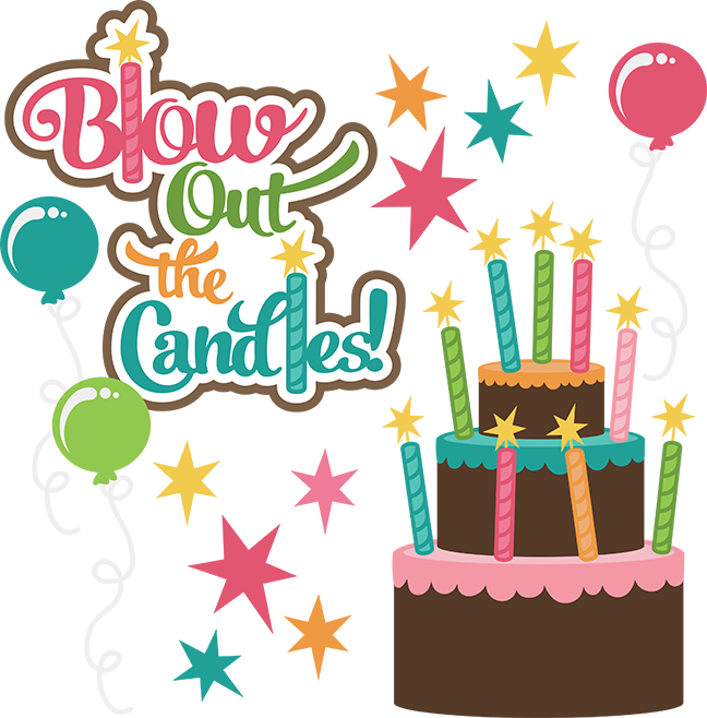 648x658 Blow Out The Candles Svg Birthday Clipart Cute Birthday Clip Art