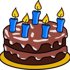 300x300 Boy Birthday Cake Clip Art