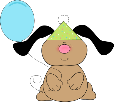 375x336 Birthday Clip Art