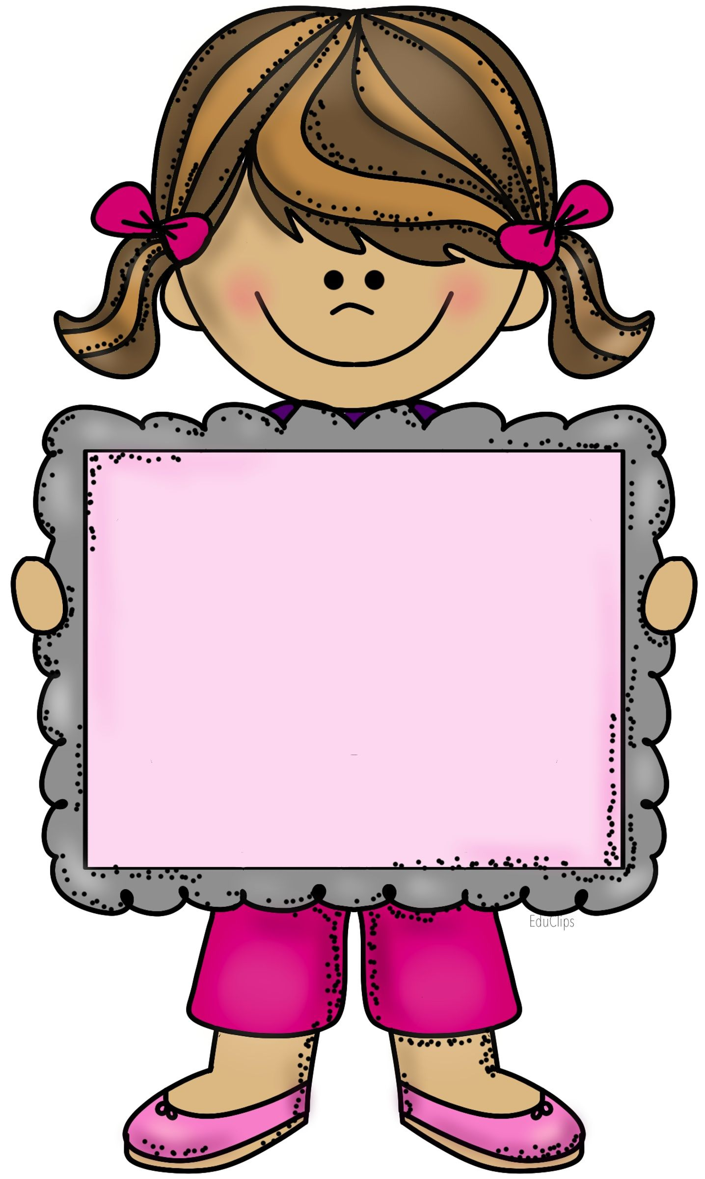 1436x2400 Little Girl Education Clip Art, Girls And School