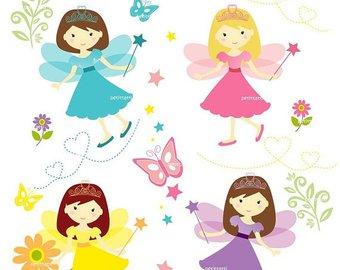 340x270 On Sale Girl Clip Art Girl Clipart Cute Fairy Clip Art