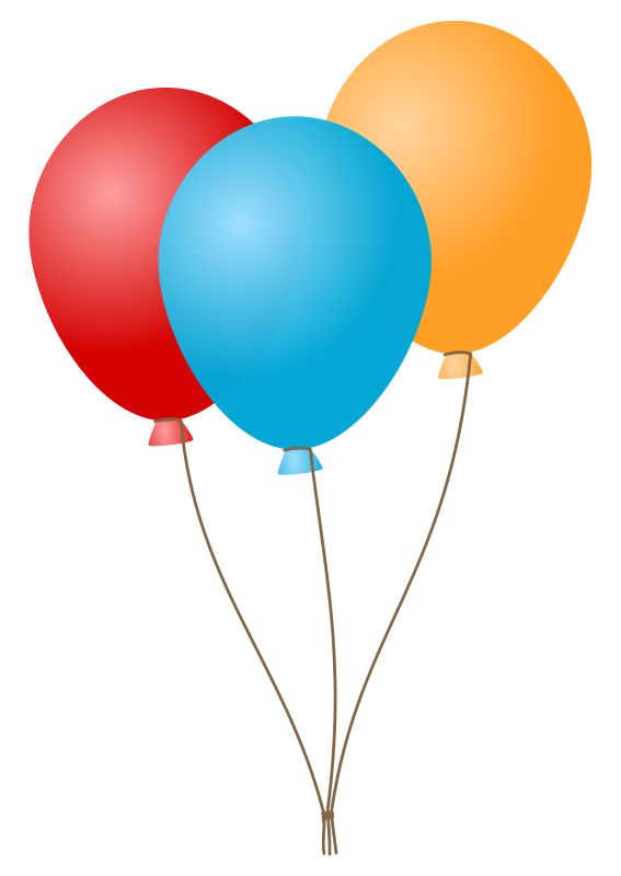 567x800 Balloon Birthday Clipart Pictures Royalty Free Clipart Pictures Org