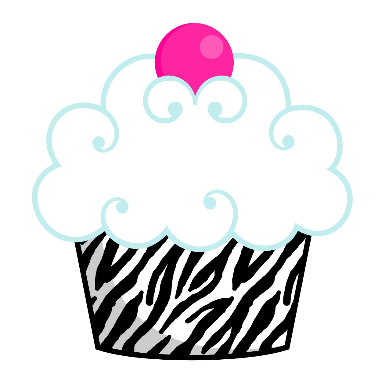 1262x1215 Unique Birthday Cupcake Clipart Gallery