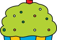 200x140 Birthday Cupcake Clipart Birthday Cupcake Clip Art Foods Grade 1