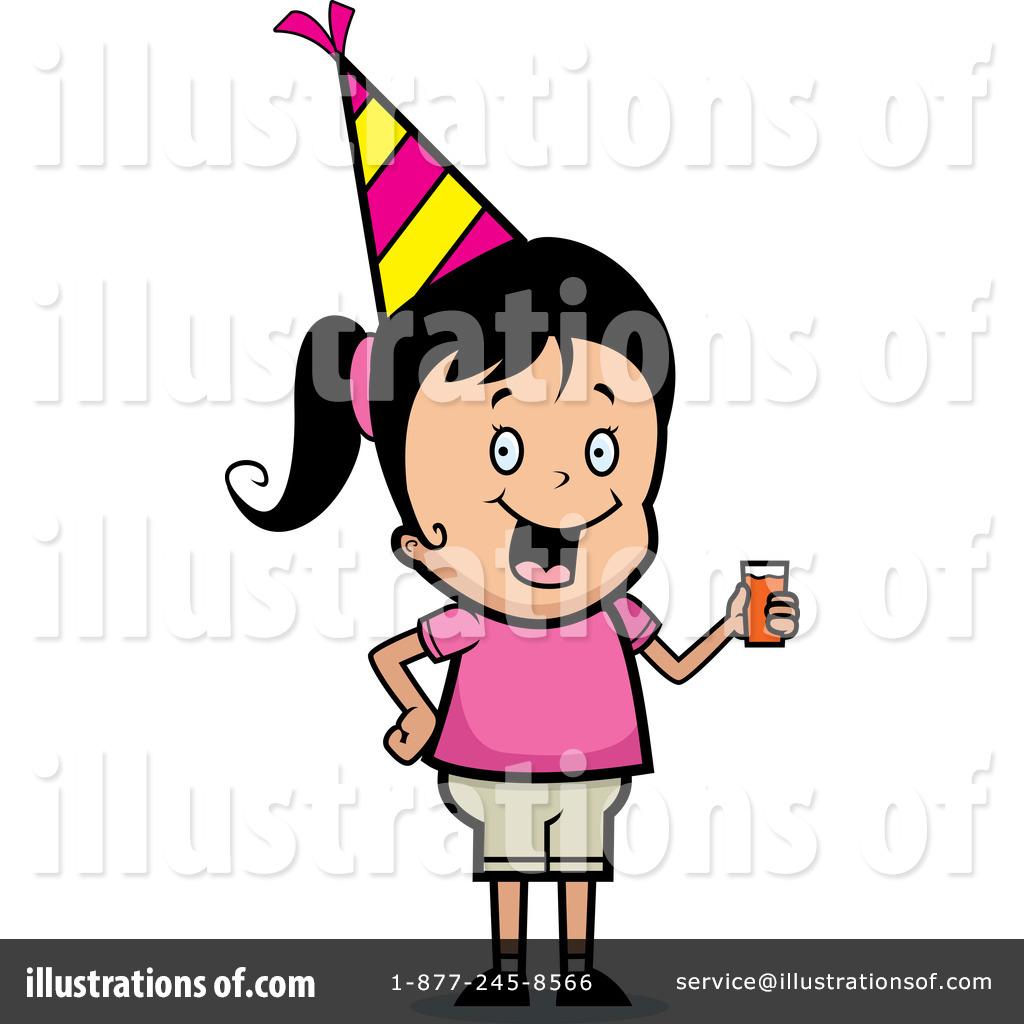 1024x1024 Birthday Girl Clipart