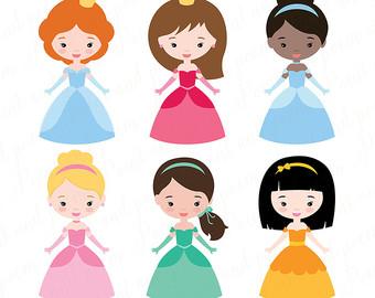 340x270 Princess Clip Art, Fairytale Princess Clip Art, Cute Little