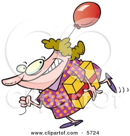 450x470 Royalty Free (Rf) Clip Art Illustration Of A Cartoon Birthday Dog