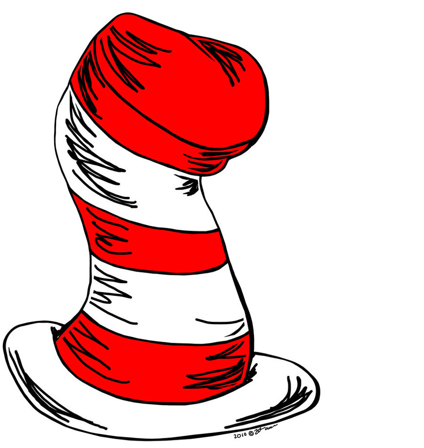 870x919 Cat In The Hat Clipart Clipartlook
