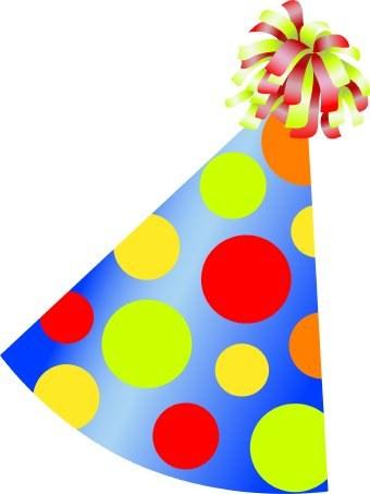 340x453 Birthday Hat Clip Art Lacalabaza
