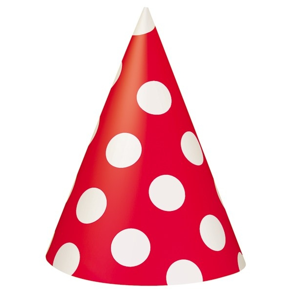 600x600 Birthday Hat Clipart Red