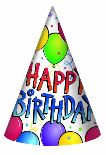 347x509 Birthday Hat Clipart Best Happy Wishes
