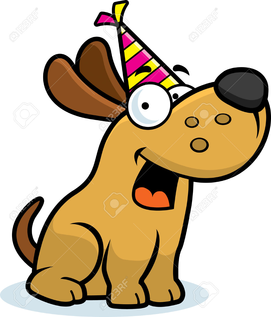 1109x1300 Collection Of Happy Birthday Dog Clipart High Quality, Free