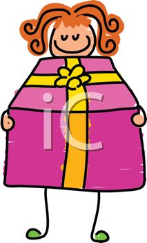 Birthday Present Clipart