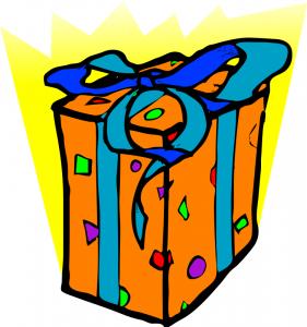 281x300 Birthday Present Clipart Clip Art Panda