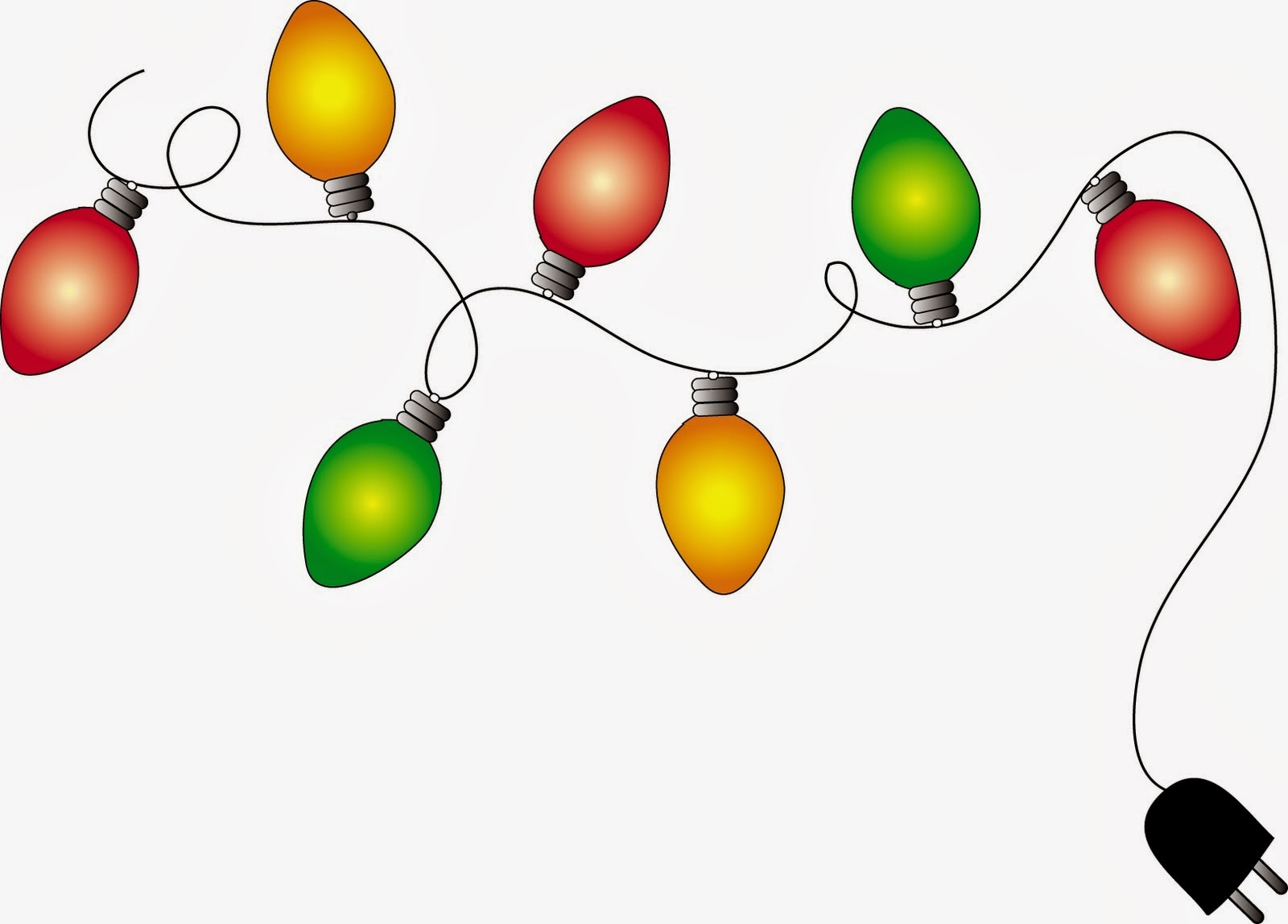 1600x1148 Free Christmas Lights Clipart Pictures
