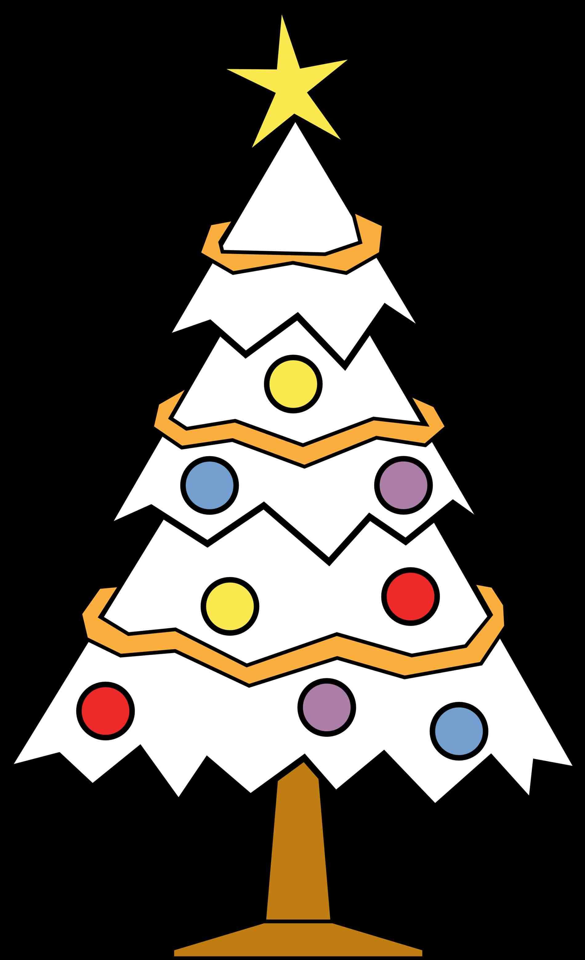 1900x3117 New Post Christmas Tree Ornament Clipart Black And White