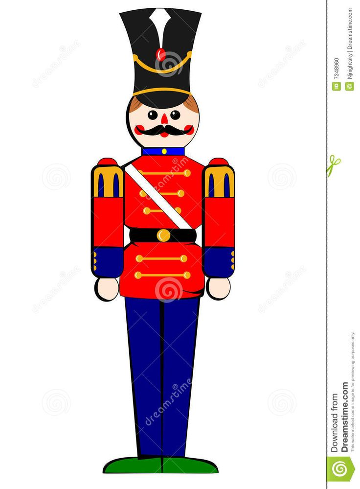 736x999 Christmas Toy Soldier Clip Art