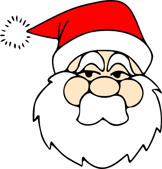 555x577 Christmas Coloring Book Clip Art