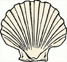236x216 Shell Clip Art Black And White Sea Shell Clipart Shells Clipart