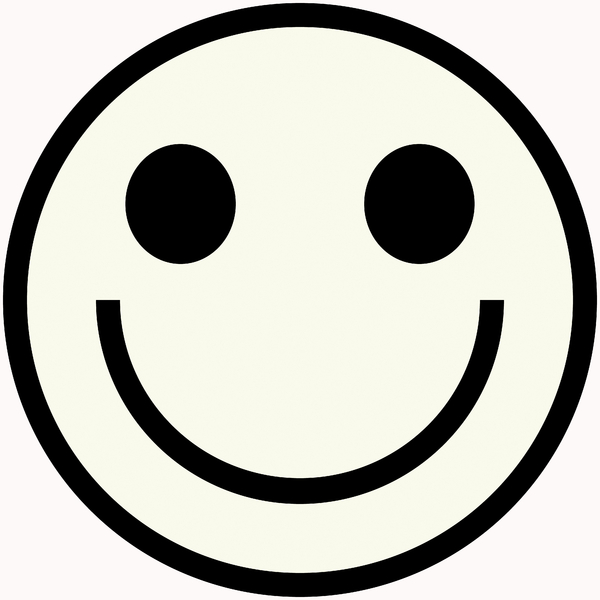 600x600 Smiley Face Clip Art Black And White Smiley Face Clip Art Black
