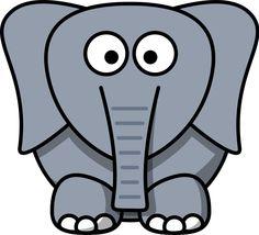 236x214 Clipartist Net Clip Art Lemmling Cartoon Elephant Black White