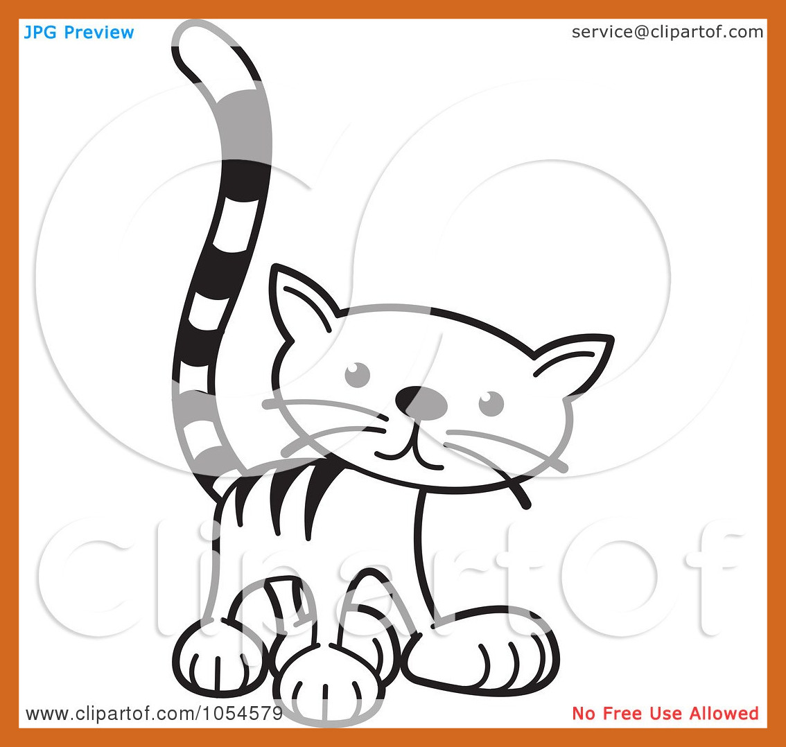 1134x1078 Shocking Animal Lineart Clipart Of A Cartoon Black And Whitecute