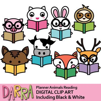 350x350 Animals Reading Clip Art Clip Art And Teaching Materials