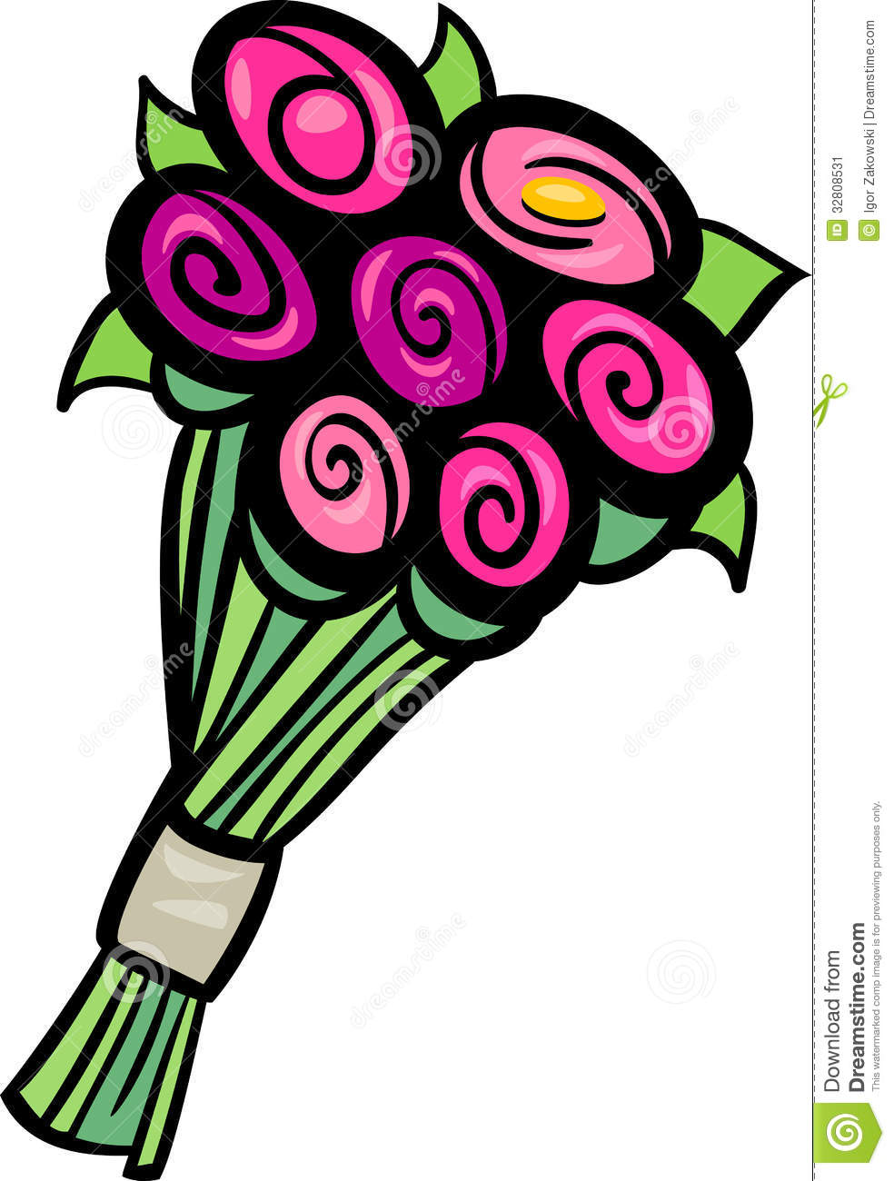 984x1300 Great Clipart Flower Bouquet Black